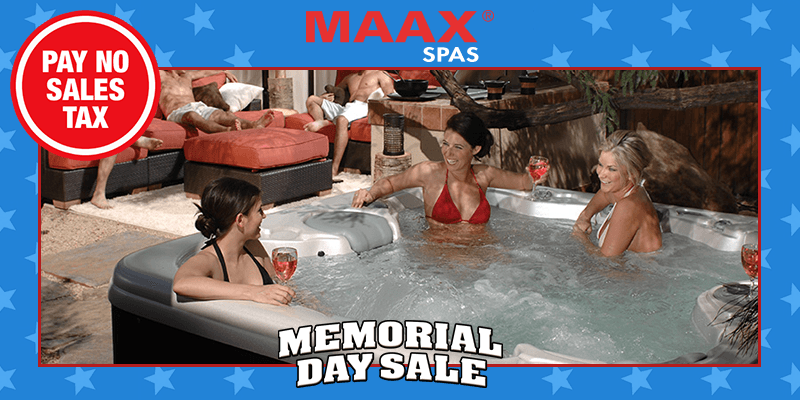 Carddine Memorial Day Sale - Hot Tubs