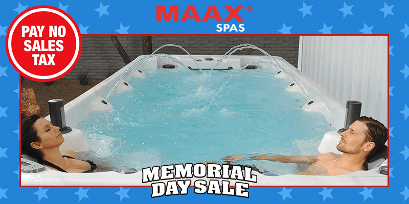 Carddine Memorial Day Sale - Swim Spas