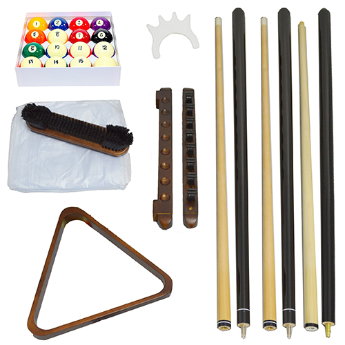 BLACK BILLIARD ACCESSORY KITS